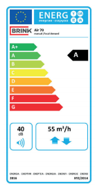 étiquette énergie air 70