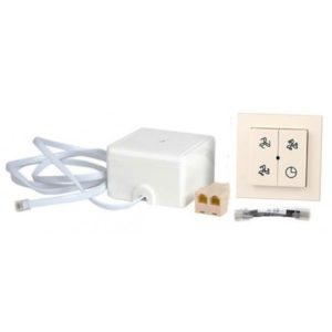 Set Sélecteur 4 positions sans fil avec indicateur de fil + récepteur sans fil
