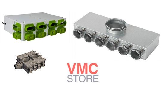 systèmes de distribution d'air pour vmc double flux